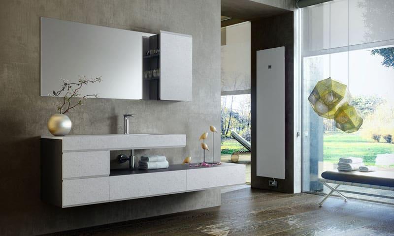 Making di fiora: la fusione tra top e mobile bagno