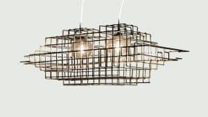 """L'illuminazione """"sospesa"""" di Shāke Design"""