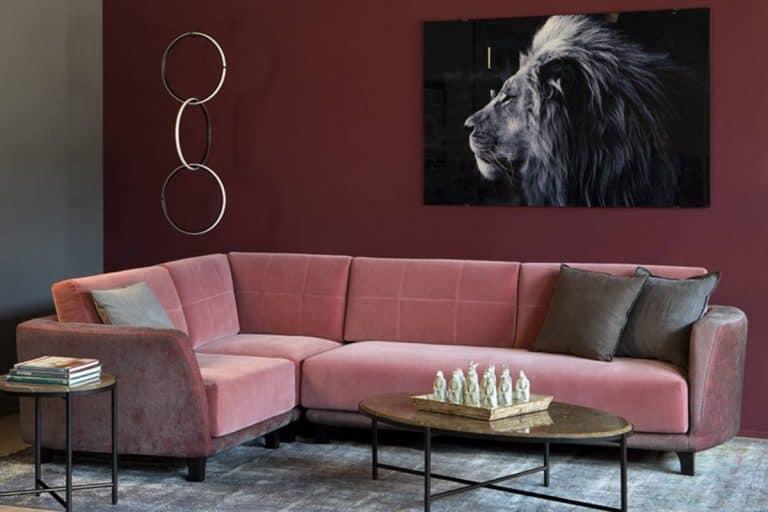 Magenta: divano componibile con moduli - Alma Design