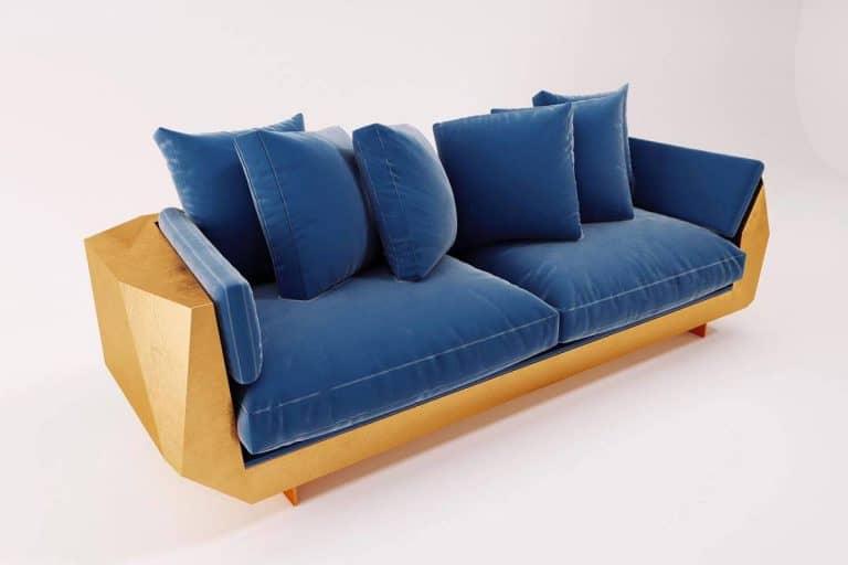 Stone Sofa: divano moderno con struttura in granito - Bat eye