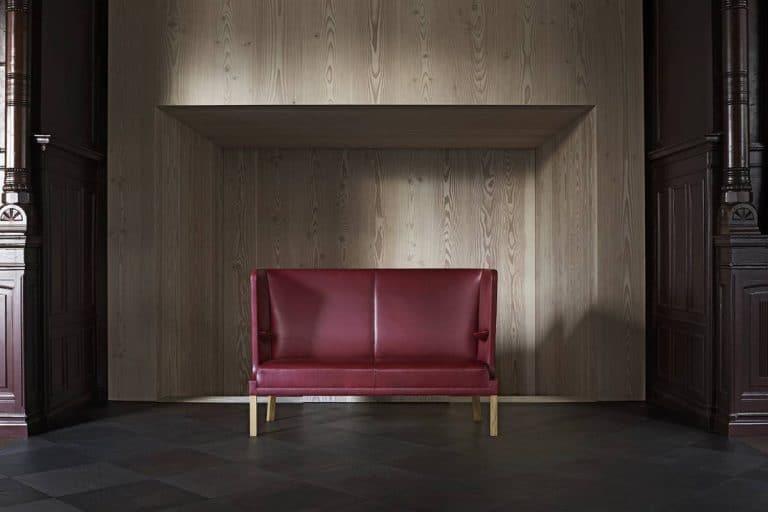 Coupé Sofa: divano elegante in pelle - Carl Hansen & Søn
