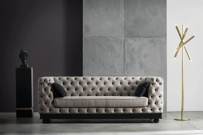 Paris Capitonnè: divano classico - Chelini