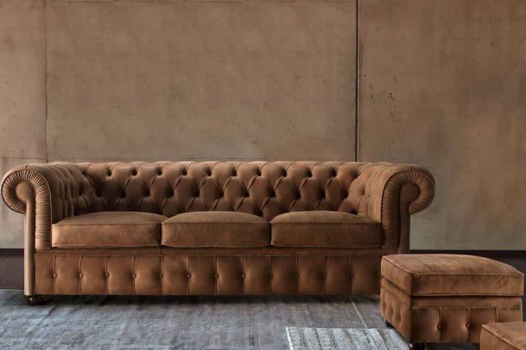 Chester: divano in pelle stile chesterfield - diotti.com