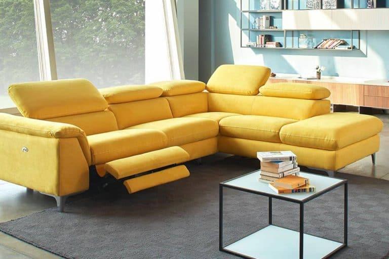 Morris: divano relax angolare - Dondi Salotti