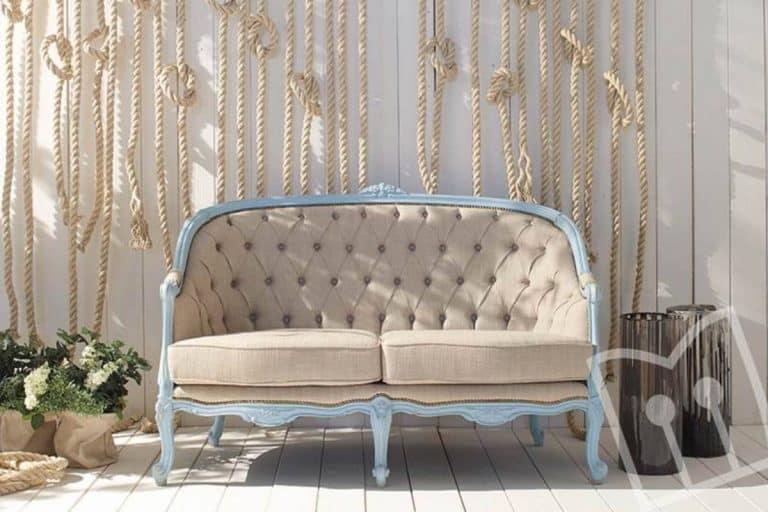 Art. 777: divano stile shabby chic - Fratelli Mirandola