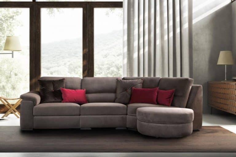 Edmond: divano in tessuto - Le Comfort