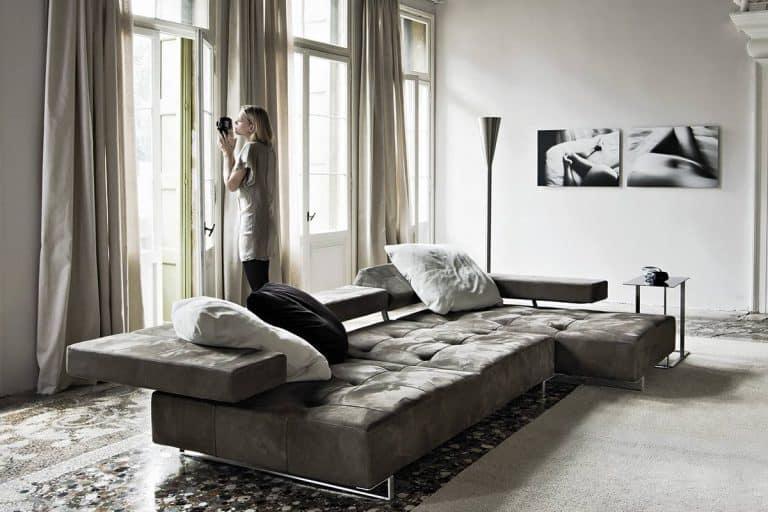 Loft: divano con chaise longue - Arketipo Firenze