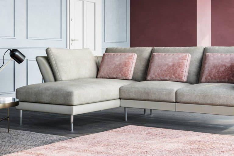 Battito d'ali: divano angolare - Poltronesofà