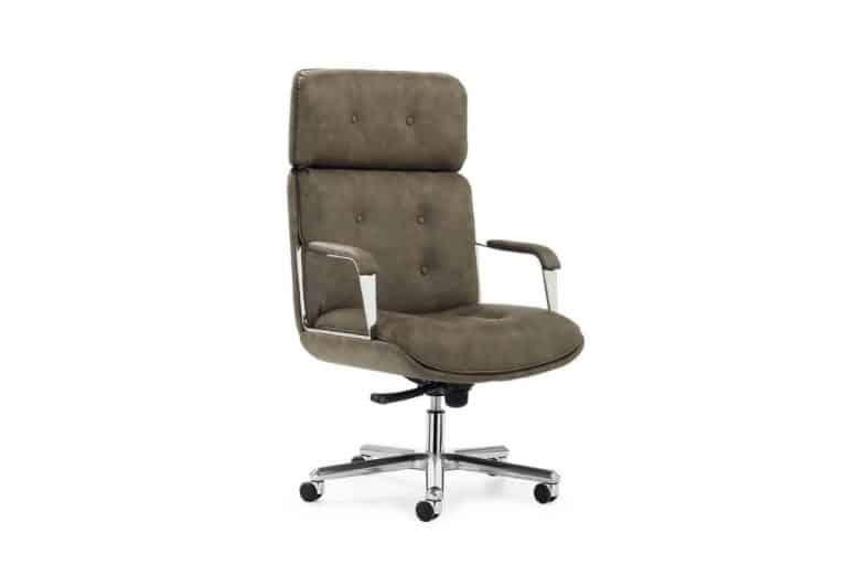 Vintage: sedia da ufficio comoda in stile vintage - Gierre