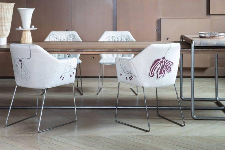 New York: sedia con braccioli o senza, firmata da Antonio Marras - Saba