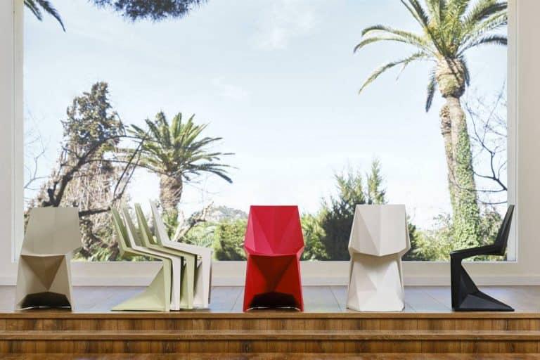 Voxel Chair: sedia moderna, anche in versione per bambini - Vondom