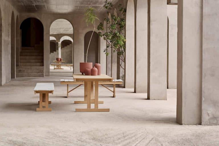 BM 1771: tavolo da esterno in legno - Carl Hansen & Søn
