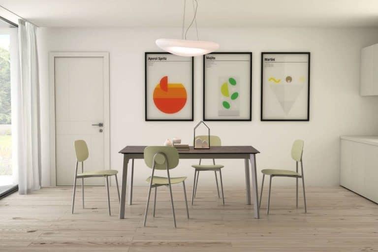 Basil: tavolo moderno allungabile - Diotti.com