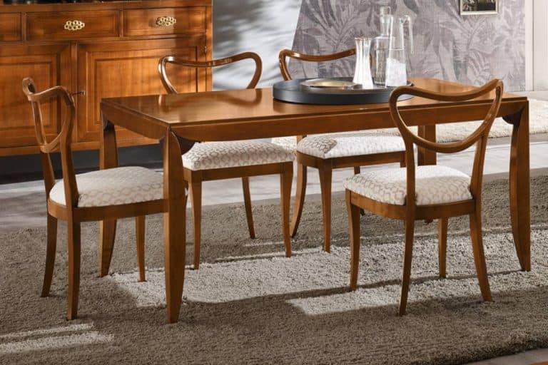 Orione: tavolo classico rettangolare e allungabile - Le Fablier