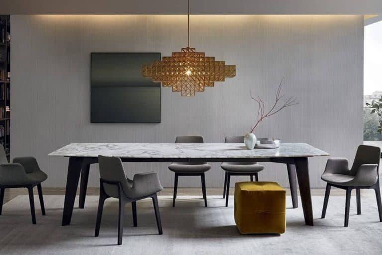 Howard: tavolo in marmo dal design essenziale - Poliform