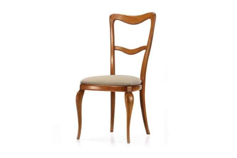 S752: Sedia classica in legno massello di faggio - Busetto