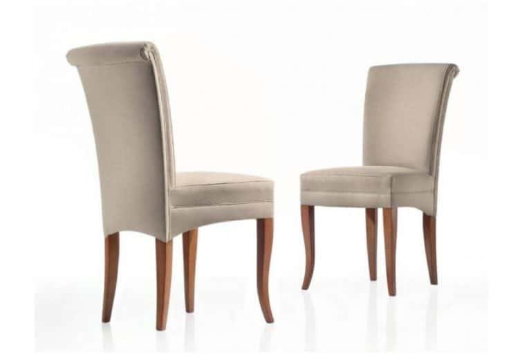 Ancona (Art. 150/S): sedia classica con struttura in legno - Chiaramonte Renzo