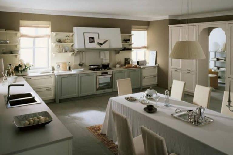 Nuovo Mondo: cucina ad angolo design classico - Scandola