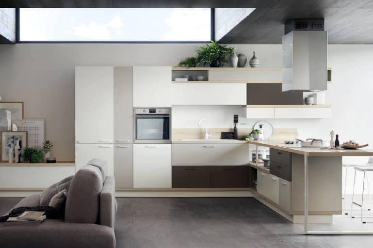 Foodshelf: cucina living moderna e polifunzionale - Scavolini