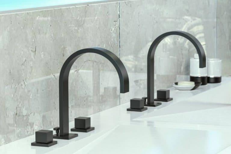 Qubic: rubinetto bagno dalla forma squadrata ed elegante - Graff