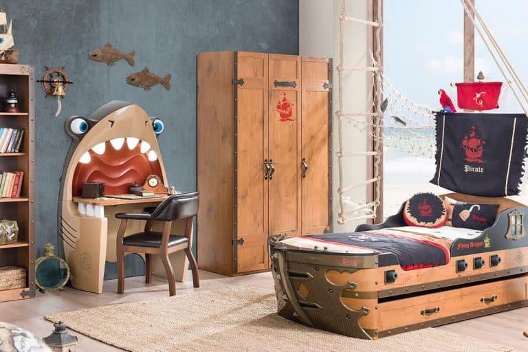Modello Pirate: Cameretta in legno - Cilek