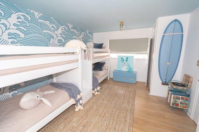Ocean Bedroom: Cameretta con 4 letti - Maxtrix